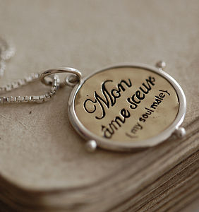 Personalised 'Soulmate' Necklace - for your other half