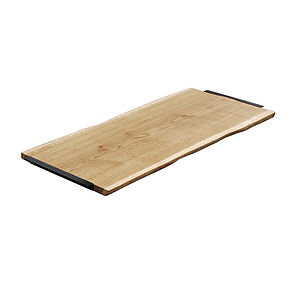 Oak And Iron Giant Serving Board - chopping boards