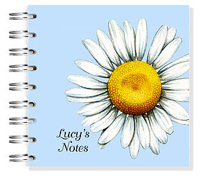 Daisy Notebook - personalised