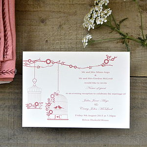 Victoria Wedding Stationery - invitations