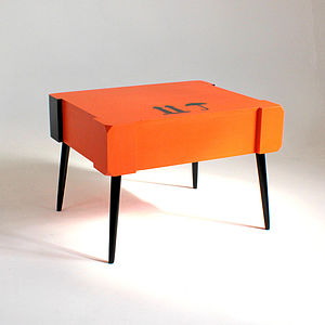 Hoxton Square Art Crate Coffee Table - furniture