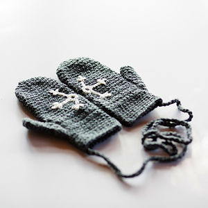 Childrens Hidden Message Mittens - gifts under £25