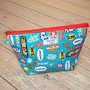 Superhero Toiletry Cosmetic Wash Bag - Medium
