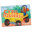 'Cyril Squirrel To The Rescue' Mini Storybook
