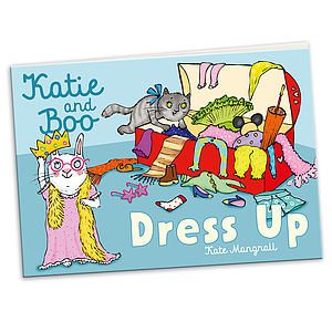 'Katie And Boo Dress Up' Mini Storybook - books