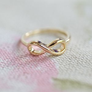 Infinity Ring - women's jewellery