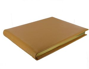 Personalised Leather Cellar Book - stationery & desk accessories