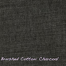 Brushed Cotton Charcoal