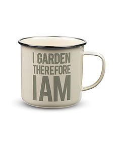 'I Garden therefore am'   Gardening Mug