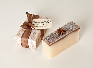 Coffee Swirl And Anise Seed Soap - delicious beauty