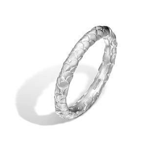 Patterned Platinum Wedding Ring