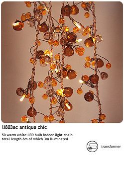 'Antique Crystal' Fairy Lights