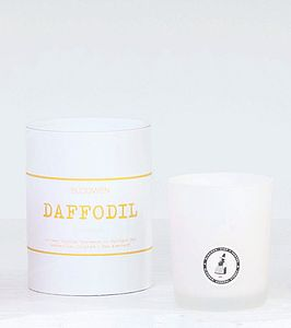 'Daffodil' Artisan Candle - candles and candle holders