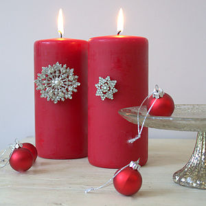 Diamante Candle Pins - lighting