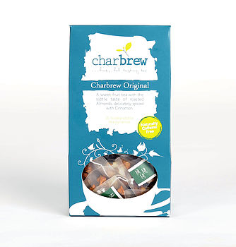 Charbrew Original Tea 15 Biodegradable Tea Bags