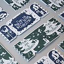 Pack Of Six Christmas Dream Cracker Cards