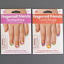 Child's Butterfly Or Ladybug Nail Stickers