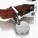 Hennessy & Sons Harris Tweed Rust - Clasp