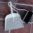 Happy Smiling Dustpan And Brush Set