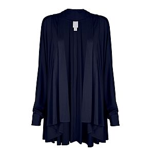 Jersey Waterfall Cardigan - women's fashion