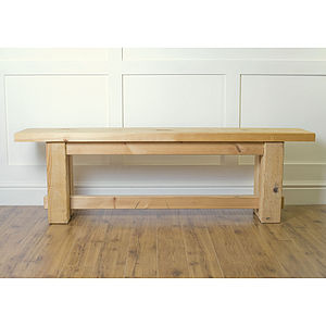Rustic Bench - furniture