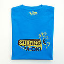 Surfing Is A Ok Mens T Shirt