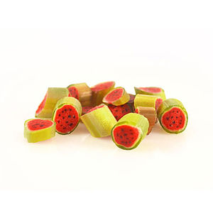 Watermelon Hard Rock Candy In A Bag - chocolates & confectionery