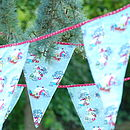 Vintage Style Christmas Fabric Bunting