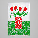 Tulips Towel