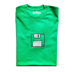 Mr Floppy Disc Mens T Shirt - gifts for geeks