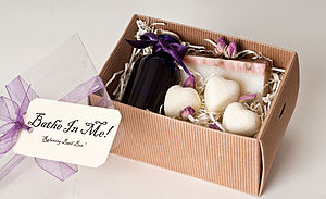 Relaxing Bath Gift Box - view all gifts for her