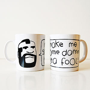Mr Tea Mug - tableware