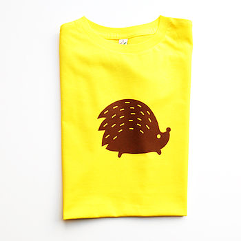 Miss Hedgehog Adults T Shirt