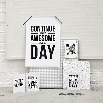 'Awesome' Notecard Set