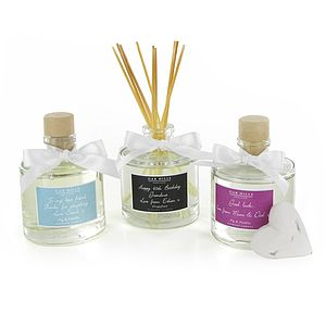 Personalised Scented Reed Diffuser - lighting