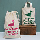 Personalised Duck Storage Bag
