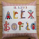 Personalised Child's Name Cushion