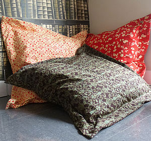 Lucyj Original Fabric Large Floor Cushions - cushions