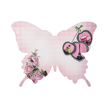 Magnetic Butterfly Dry Wipe Fridge Memo Board
