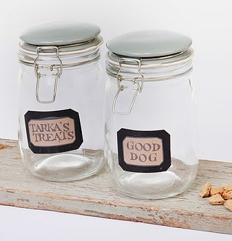 Glass Treat Jar