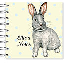 Easter Bunny Notebook