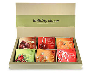 Holiday Cheer Teabag Selection - food & drink gifts