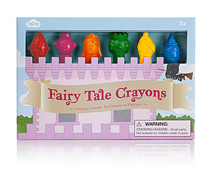 Fairytale Crayons Set - toys & games
