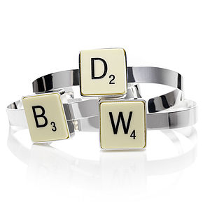 Official Scrabble Bangle