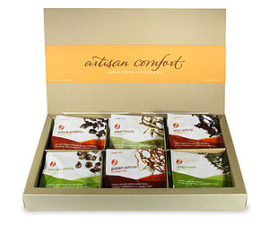 Gourmet Tea Gift Box - tea & infusions