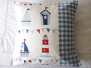 Nautical Cushion Cover - decorative accessories