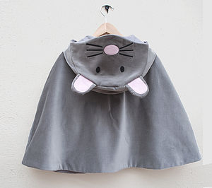 Mouse Character Cape Jacket - fancy dress