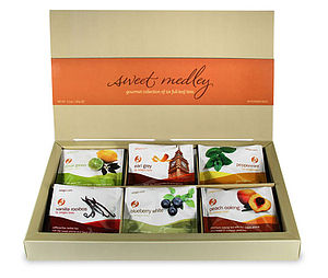 Flavoured Tea Gift Box - teas, coffees & infusions