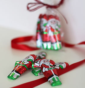 Father Christmas Foil Covered Chocolates
