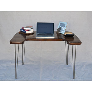 Walnut Computer Desk - furniture